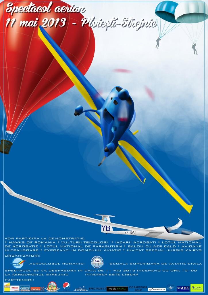 Spectacol aviatic Strejnic