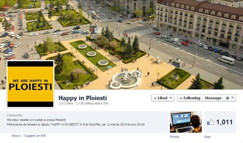 Happy in Ploiesti